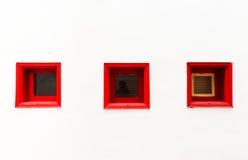 Архитектурноакустическая деталь в Ла Gomera San Sebastian de Стоковая Фотография RF