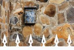 Архитектурноакустическая деталь в Ла Gomera San Sebastian de Стоковые Изображения