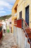 Архитектурноакустическая деталь в Ла Gomera San Sebastian de Стоковая Фотография