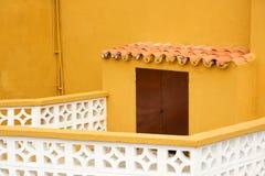 Архитектурноакустическая деталь в Garachico Стоковое Фото