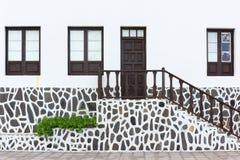 Архитектурноакустическая деталь в Garachico Стоковая Фотография