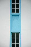 Архитектурноакустическая деталь на Dato Bentara Luar Masjid Jamek в Batu Pahat, Джохоре, Малайзии Стоковые Изображения RF
