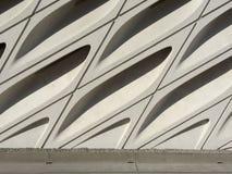 Архитектурноакустическая деталь - обширное Muesum стоковое изображение