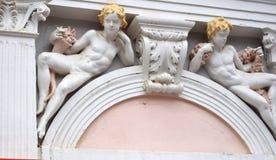 Архитектурноакустическая деталь дома Стоковая Фотография RF