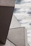 Архитектурноакустическая деталь самомоднейшего здания Стоковые Изображения