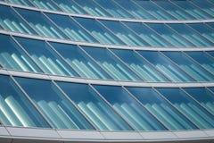 Архитектурноакустическая деталь современного здания Стоковая Фотография RF