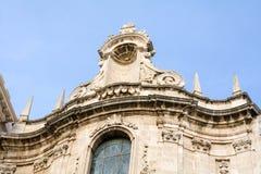 Архитектурноакустическая деталь церков в Siracusa, Сицилии, Италии Стоковые Изображения RF