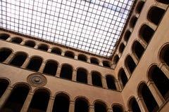архитектурноакустическая итальянка детали здания Стоковые Изображения