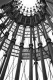 Архитектурноакустическая конструкция металлической башни Стоковое Изображение
