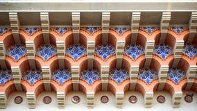 архитектурноакустическая крыша детали здания Стоковое Фото