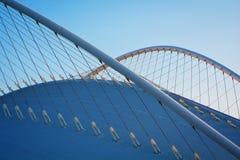 архитектурноакустическая крыша детали здания Стоковая Фотография