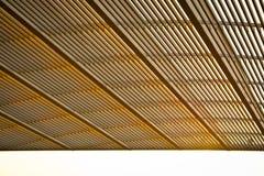 архитектурноакустическая крыша детали здания Стоковое Изображение