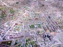 Архитектурноакустическая модель Москвы стоковые фото