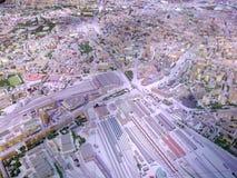 Архитектурноакустическая модель Москвы стоковое изображение rf