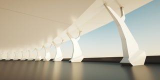 архитектурноакустическая предпосылка Стоковое Изображение RF