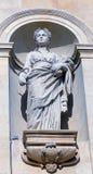 Архитектурноакустическая статуя деметры стоковое изображение rf