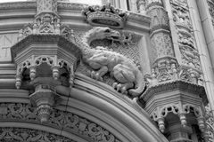 Архитектурноакустические детали в Нью-Йорке Стоковые Фото