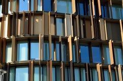 Архитектурноакустические детали и окна Стоковые Фотографии RF
