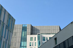 Архитектурноакустические детали и окна Стоковые Изображения