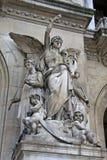 Архитектурноакустические детали оперы национального de Парижа - грандиозной оперы, Парижа, Франции Стоковые Изображения RF