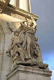 Архитектурноакустические детали оперы национального de Парижа - грандиозной оперы, Парижа, Франции Стоковые Фото