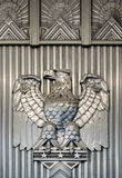 Архитектурноакустические детали орла стоковое изображение rf