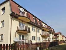 Архитектурноакустические детали современной квартиры. Стоковое фото RF