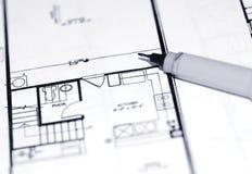 архитектурноакустические светокопии стоковая фотография