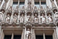 архитектурноакустические элементы здания Стоковые Фотографии RF