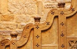 архитектурноакустический дворец mandir детали Стоковая Фотография