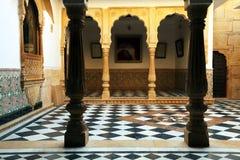 архитектурноакустический дворец mandir детали Стоковая Фотография RF