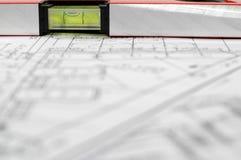 архитектурноакустический домашний план Стоковые Фото