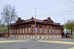 Архитектурноакустический и исторический памятник к Tyumen, Стоковое Фото