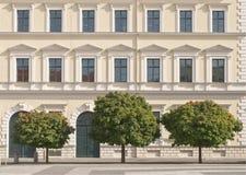 архитектурноакустический классицистический фасад Стоковое Изображение