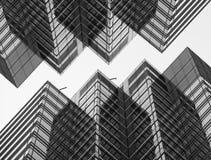 Архитектурноакустический коллаж Стоковые Изображения