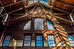 Архитектурноакустический открытый потолок Стоковое Фото