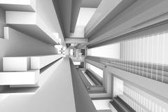 Архитектурноакустический перевод конспекта 3d Стоковое фото RF