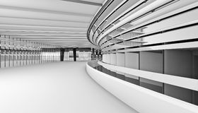 Архитектурноакустический перевод конспекта 3d Стоковое Изображение RF
