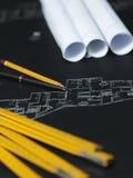 архитектурноакустический проект части Стоковое Изображение RF