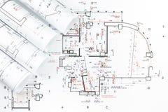 Архитектурноакустический план Стоковая Фотография