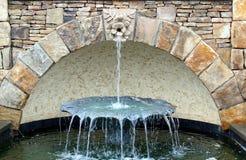Архитектурноакустический фонтан Стоковое Изображение RF