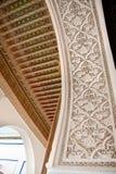 архитектурноакустический moroccan детали Стоковая Фотография RF