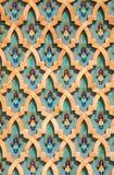архитектурноакустический moroccan детали Стоковые Изображения