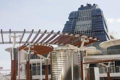 Архитектурноакустическое уравновешивание на туристическом судне стоковая фотография rf