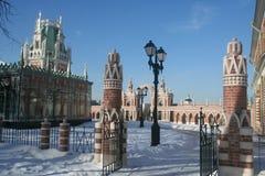 архитектурный ансамбль исторический Стоковые Фото