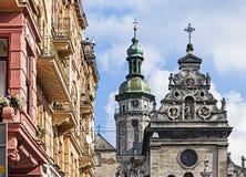 Архитектурный ансамбль монастыря Bernardine стоковое фото