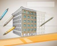 Архитектурный дизайн Бесплатная Иллюстрация