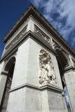 Арч Де Триомпюе, Париж, Франция Стоковое Изображение