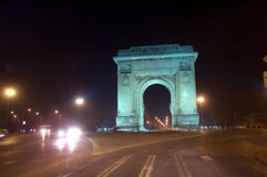 Арч Де Триомпюе стоковое фото rf