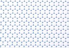 Аспирин в строках Стоковое фото RF